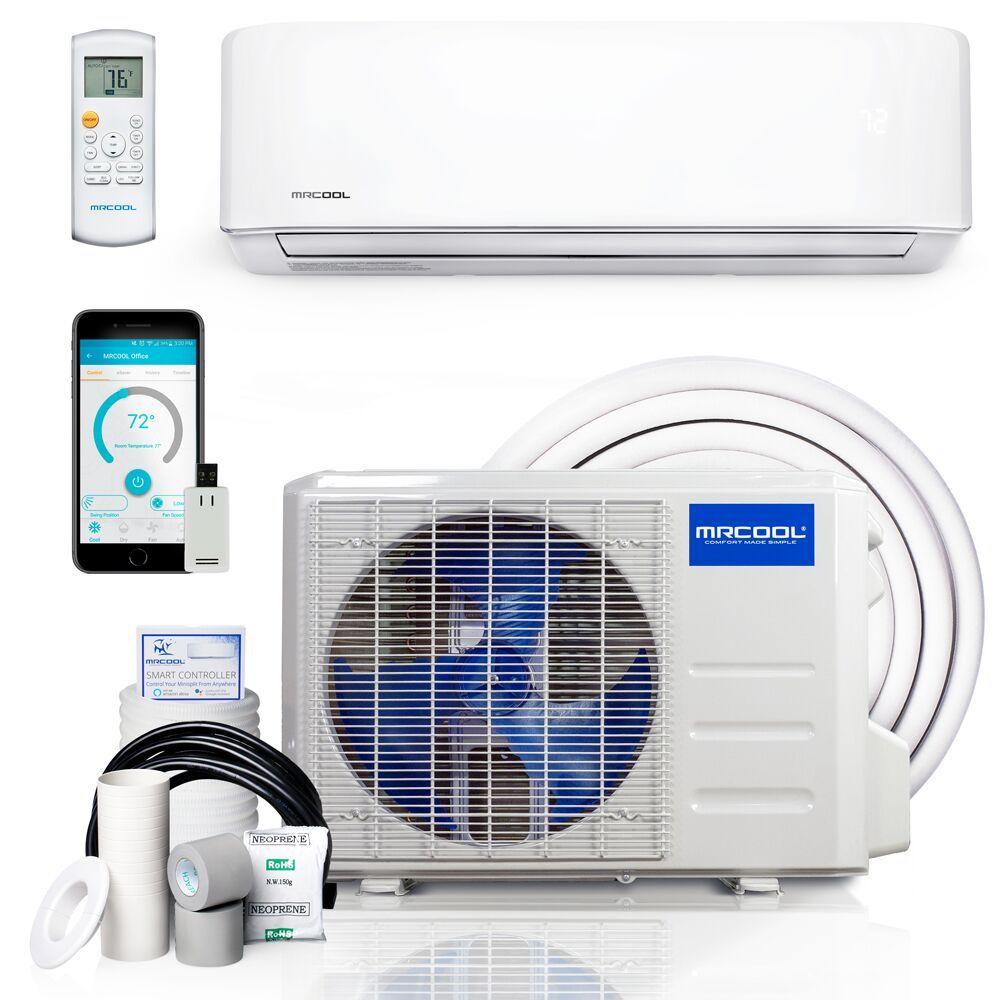 24 000 Btu 2 Ton Mrcool Advantage Series Ductless Mini Split Air Conditioner And Heat Pump 19 Seer 230v 60hz Payless Mini Split